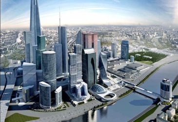 45% Москва Сити необитаемо