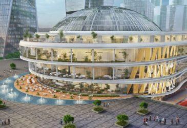 В Москва Сити самые большие часы в мире