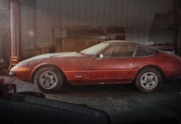 Нашелся старый Ferrari Daytona