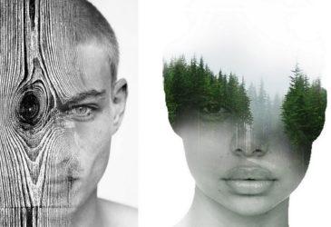 Коллажные портреты Антонио Моры