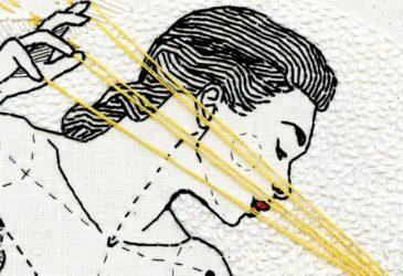 Вышитые женские тела Андреа Фарины