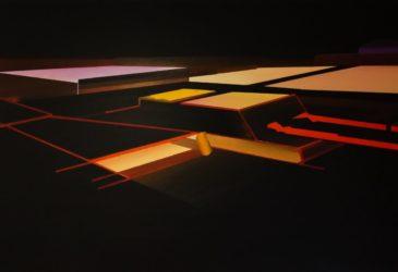 Линейное искусство Эрана Голдфельда
