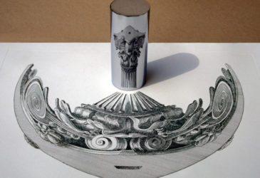 Анаморфное искусство Иштвана Ороша