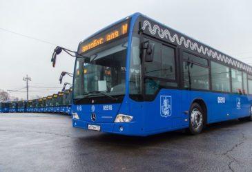 Этой весной Столичные дороги встретят около 600 новых автобусов
