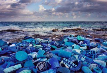 Искусство из загрязненного океана