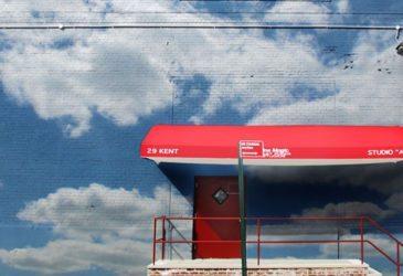 Облака в архитектуре города