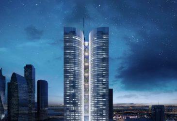Партнер Ротенбергов купил проект небоскреба в «Москва-Сити»