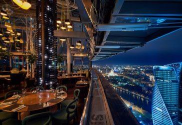Вид с 62-го этажа башни «Федерация» захватывает дух