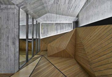 Необычное жилое геометричное пространство