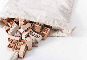 Деревянный Лего