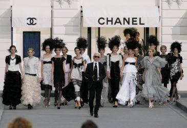 Обновленный бутик Chanel в стиле XVIII века