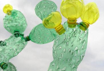 Рециркулированные пластиковые бутылки