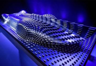 Mercedes: электрический суперкар в стиле ретро