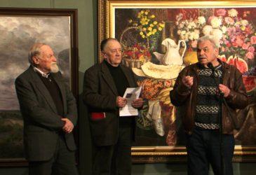 Персональная выставка Анатолия Иткина в МВК Школы акварели Сергея Андрияки