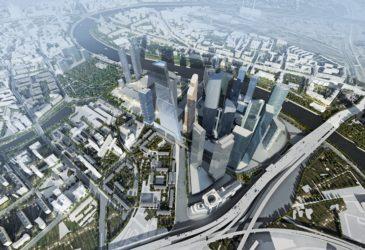 «Битва» небоскребов: Москва-Сити строит башню в 400 метров