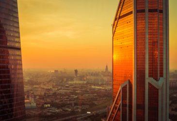 «Золотая башня» — обладатель самой высокой рекламы в Европе