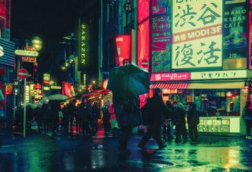 Неоновый город. Прогулка по Токио
