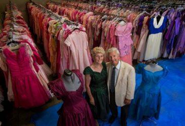Самый большой в мире женский гардероб