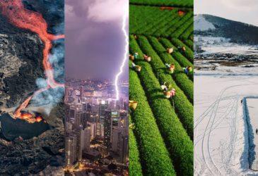 ТОП-20 лучших фотографий, снятых на дрон в 2018 году