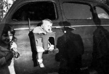 Детские автокресла середины 20-ого столетия точно не купили бы сегодня