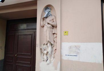 Статуя, которая следит за вами