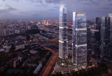 В Москва-Сити сдали новую башню